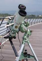 太陽観測専用天体望遠鏡
